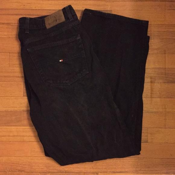 eead8e87 Tommy Hilfiger Vintage Carpenter Jeans Pants Black.  M_5b6877671b16db13312c156f